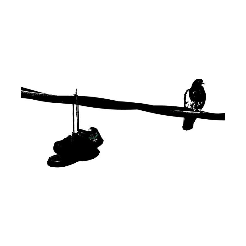 Bird On Wire R Accessories Button by Cappytann's Artist Shop