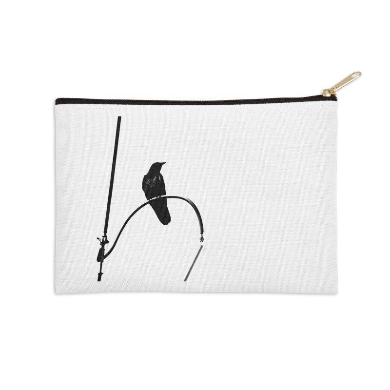 Crow R Accessories Zip Pouch by Cappytann's Artist Shop
