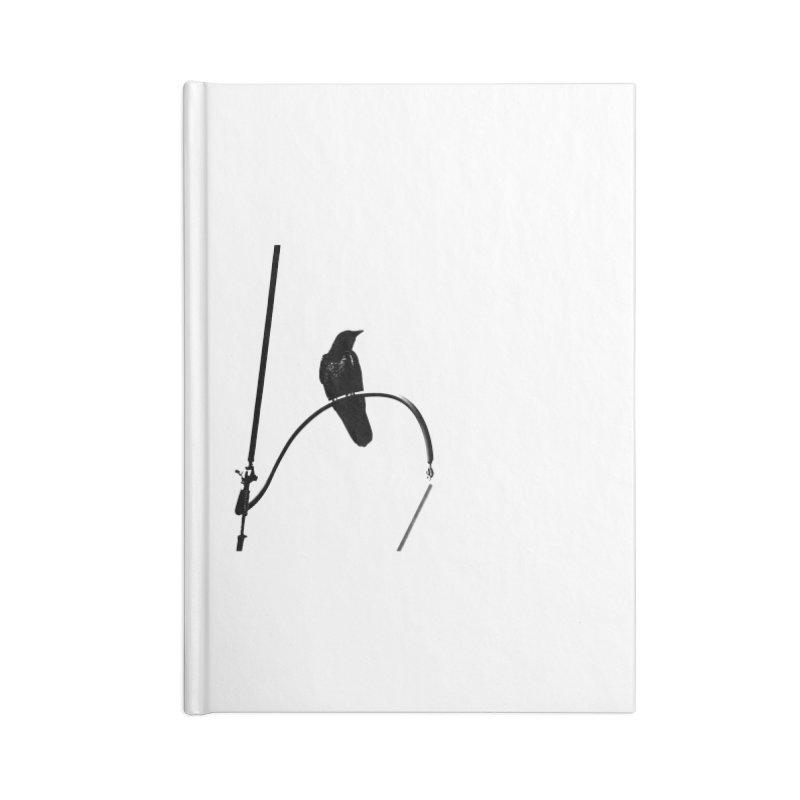 Crow R Accessories Notebook by Cappytann's Artist Shop