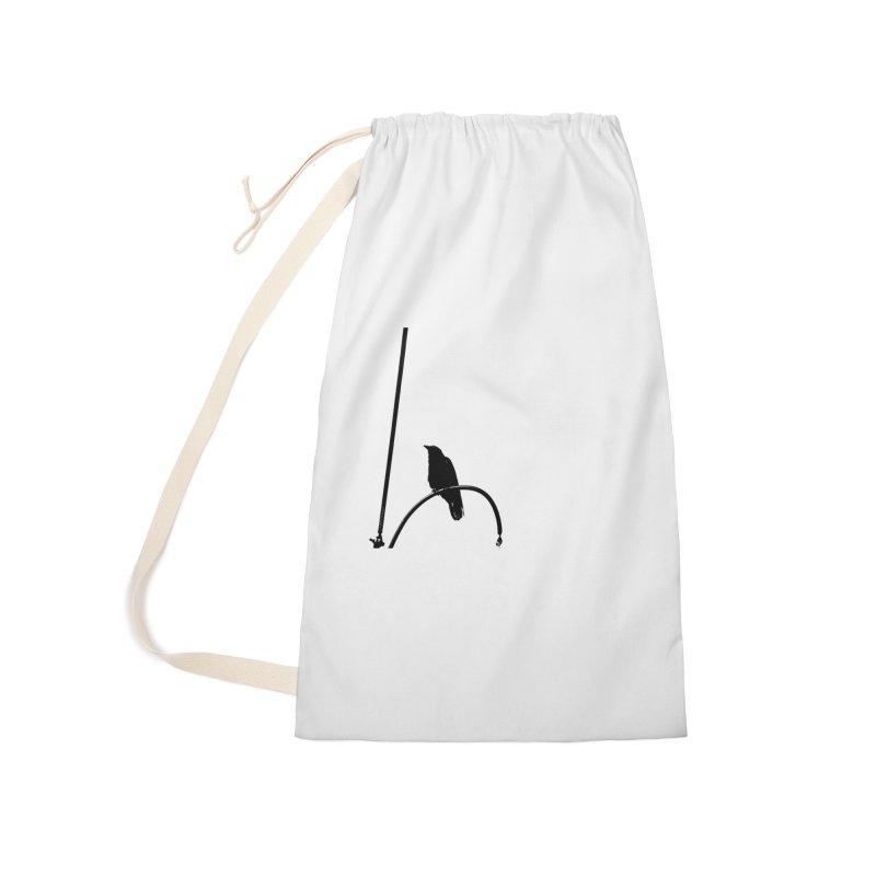 Crow L Accessories Bag by Cappytann's Artist Shop