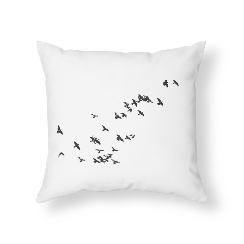 Swarm Home Throw Pillow by Cappytann's Artist Shop