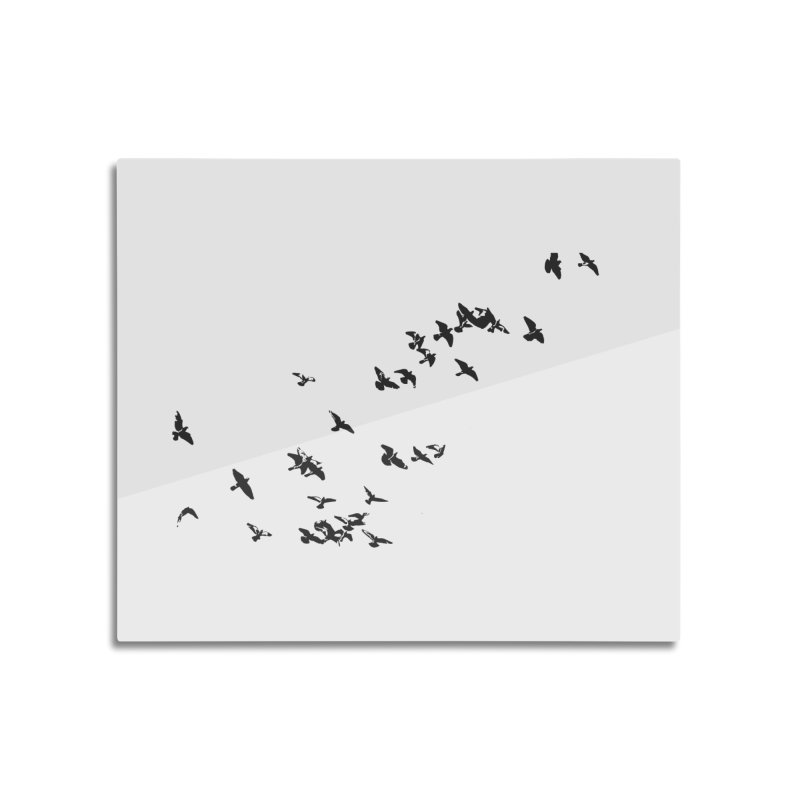 Swarm Home Mounted Aluminum Print by Cappytann's Artist Shop
