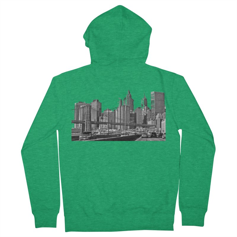 View from the FDR Men's Zip-Up Hoody by Cappytann's Artist Shop