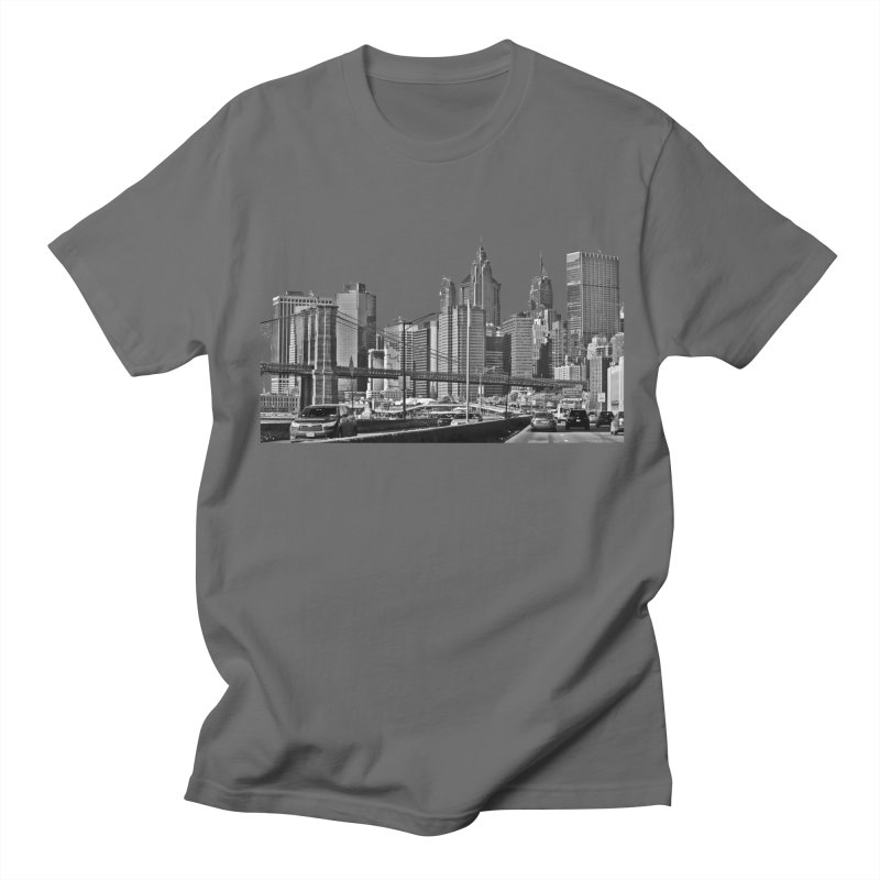 View from the FDR Men's T-Shirt by Cappytann's Artist Shop