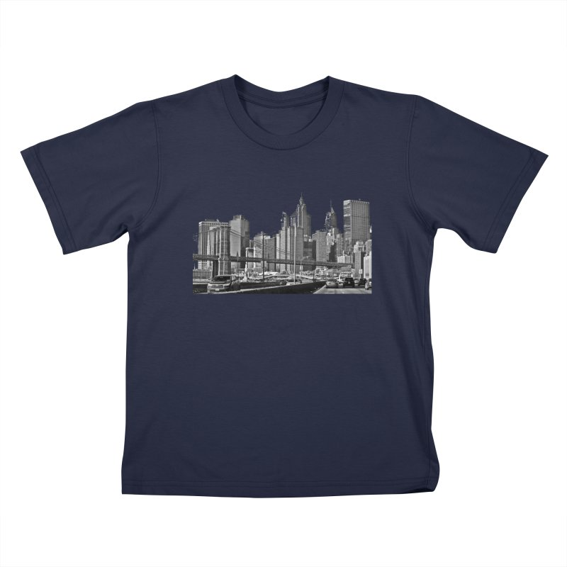 View from the FDR Kids T-Shirt by Cappytann's Artist Shop