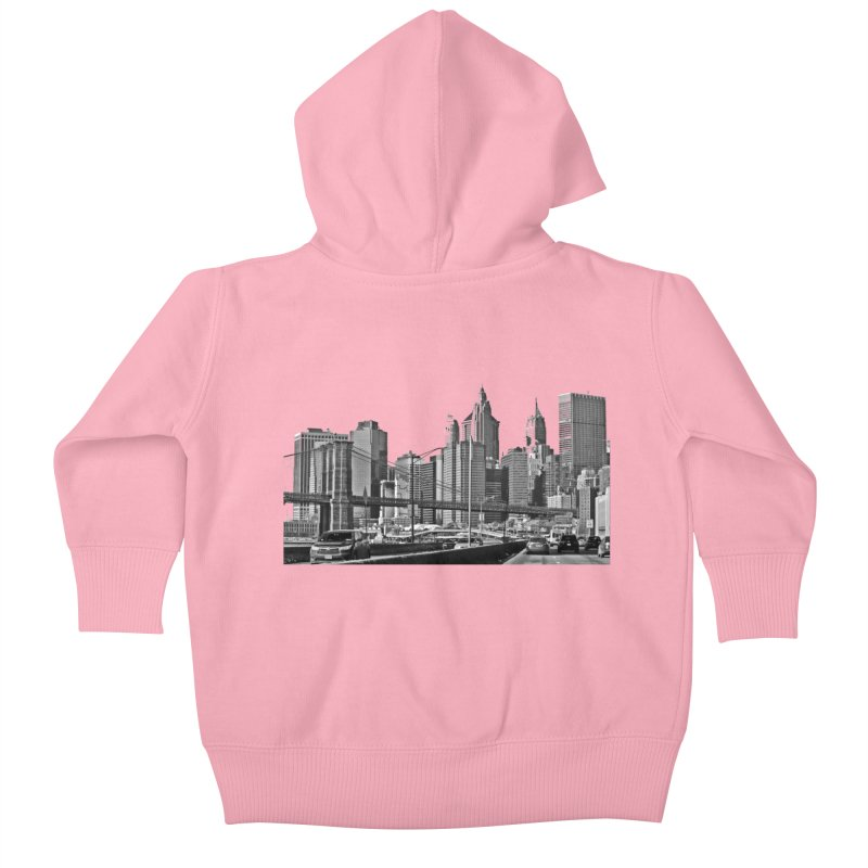 View from the FDR Kids Baby Zip-Up Hoody by Cappytann's Artist Shop