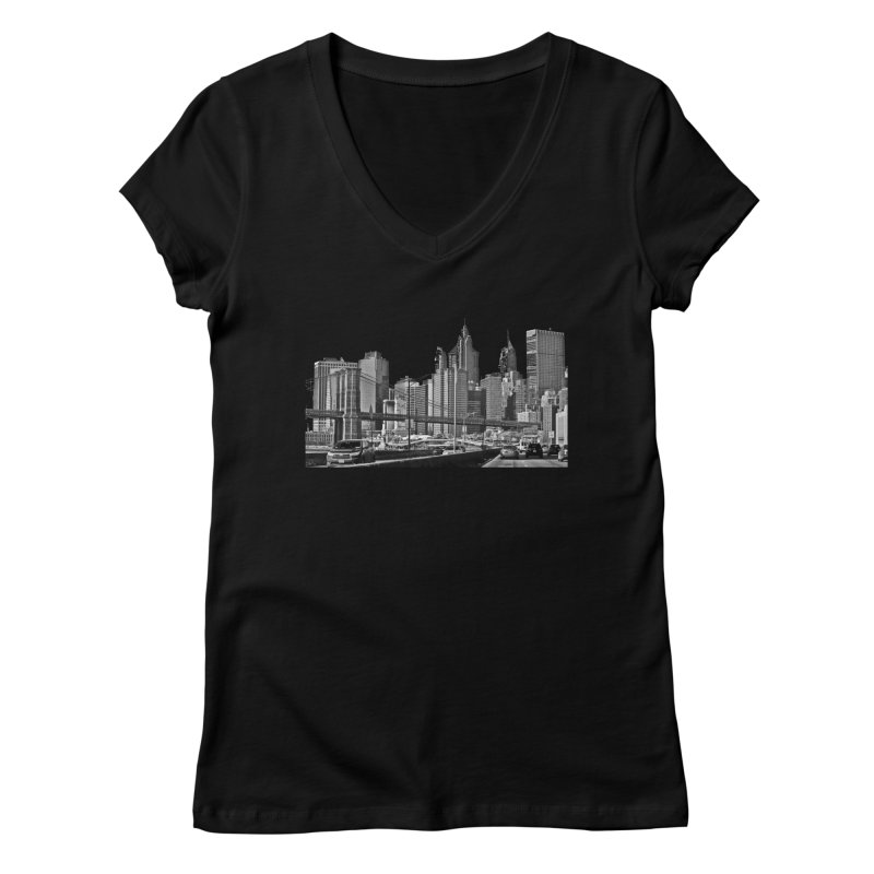 View from the FDR Women's V-Neck by Cappytann's Artist Shop