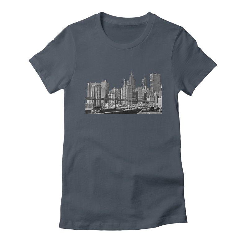 View from the FDR Women's T-Shirt by Cappytann's Artist Shop