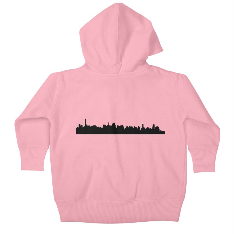 NYC from GWB Kids Baby Zip-Up Hoody by Cappytann's Artist Shop