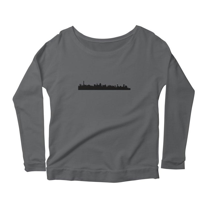 NYC from GWB Women's Longsleeve T-Shirt by Cappytann's Artist Shop