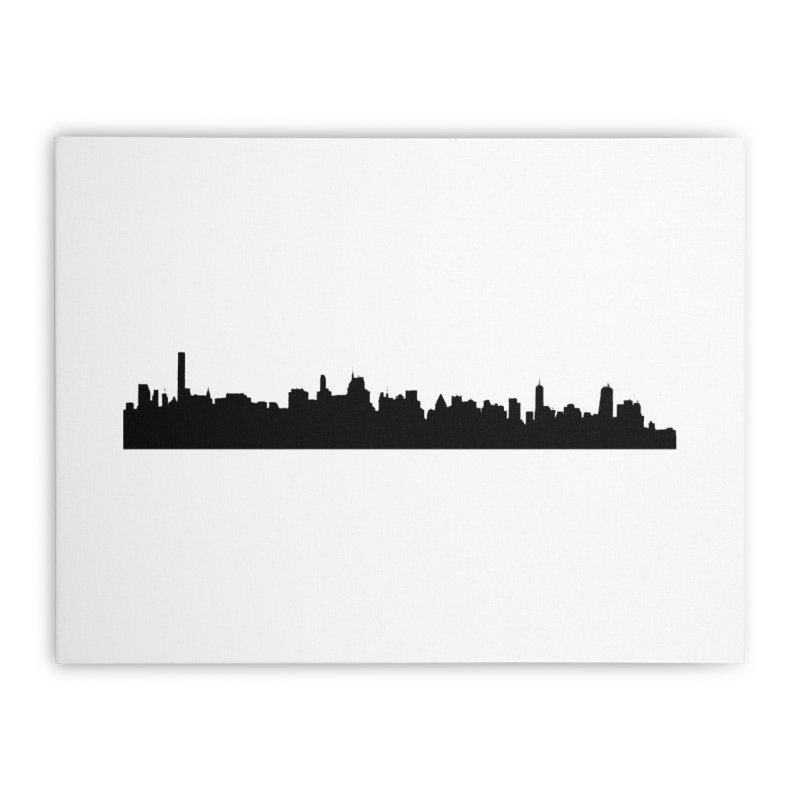 NYC from GWB Home Stretched Canvas by Cappytann's Artist Shop