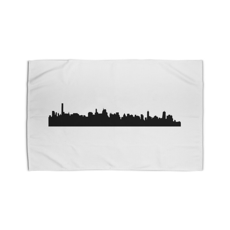 NYC from GWB Home Rug by Cappytann's Artist Shop