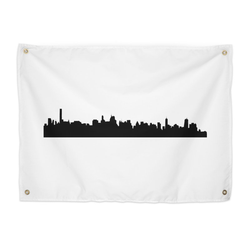NYC from GWB Home Tapestry by Cappytann's Artist Shop