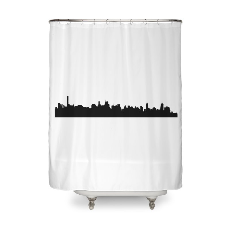 NYC from GWB Home Shower Curtain by Cappytann's Artist Shop