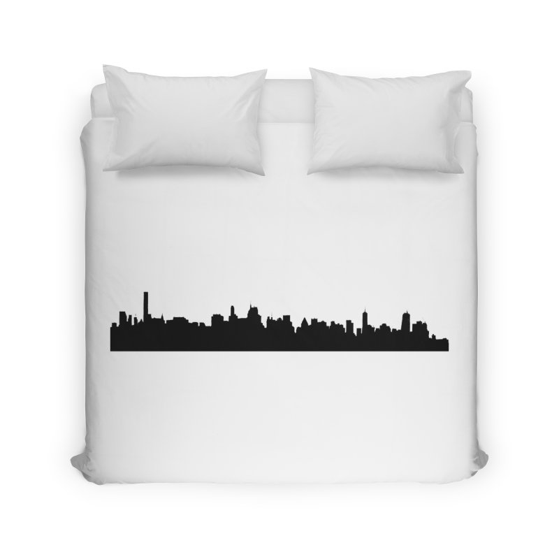 NYC from GWB Home Duvet by Cappytann's Artist Shop