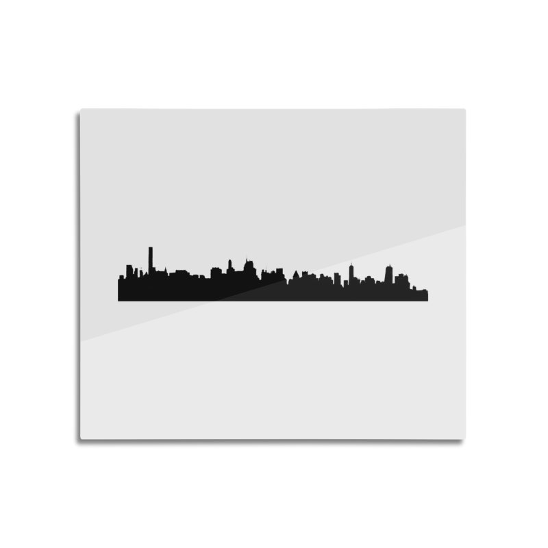 NYC from GWB Home Mounted Acrylic Print by Cappytann's Artist Shop