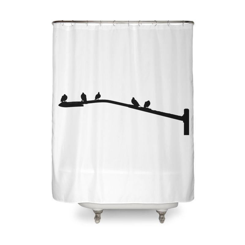 Starting 5 Home Shower Curtain by Cappytann's Artist Shop