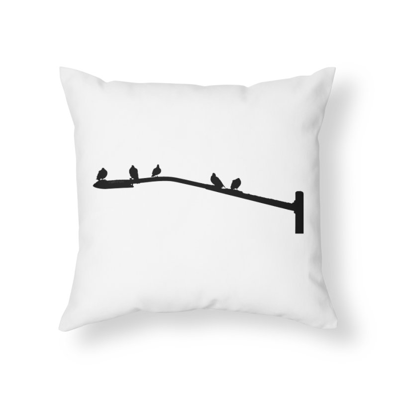Starting 5 Home Throw Pillow by Cappytann's Artist Shop
