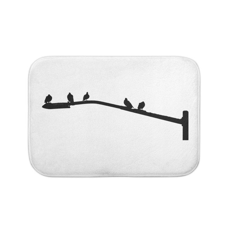 Starting 5 Home Bath Mat by Cappytann's Artist Shop