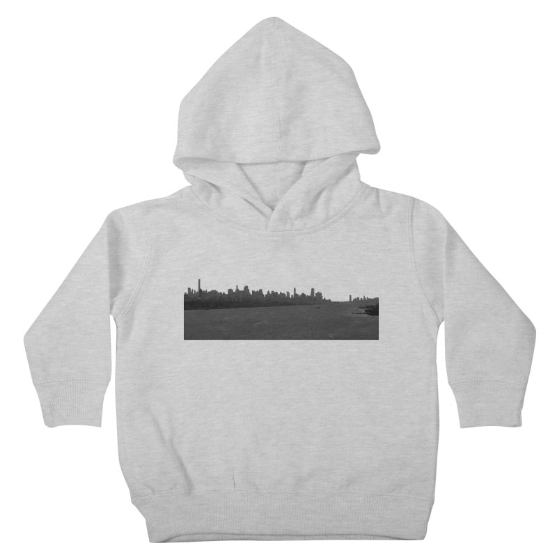 NYC from GWB BW Kids Toddler Pullover Hoody by Cappytann's Artist Shop