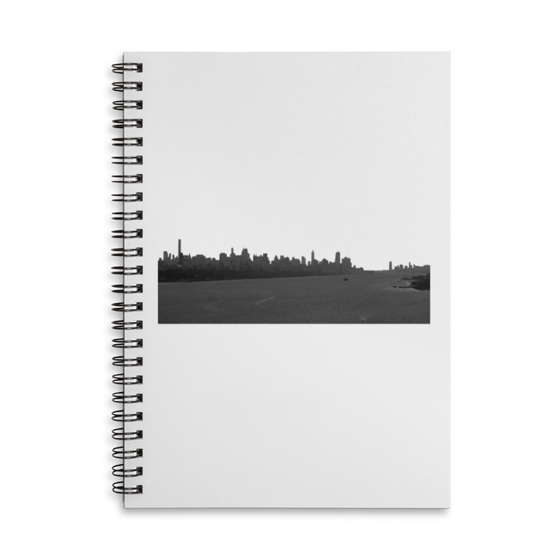 NYC from GWB BW Accessories Notebook by Cappytann's Artist Shop