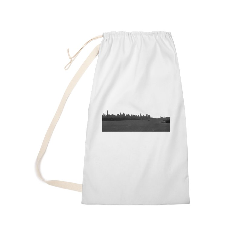 NYC from GWB BW Accessories Bag by Cappytann's Artist Shop