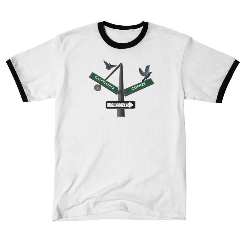 Cappytann's Corner Presents Men's T-Shirt by Cappytann's Artist Shop