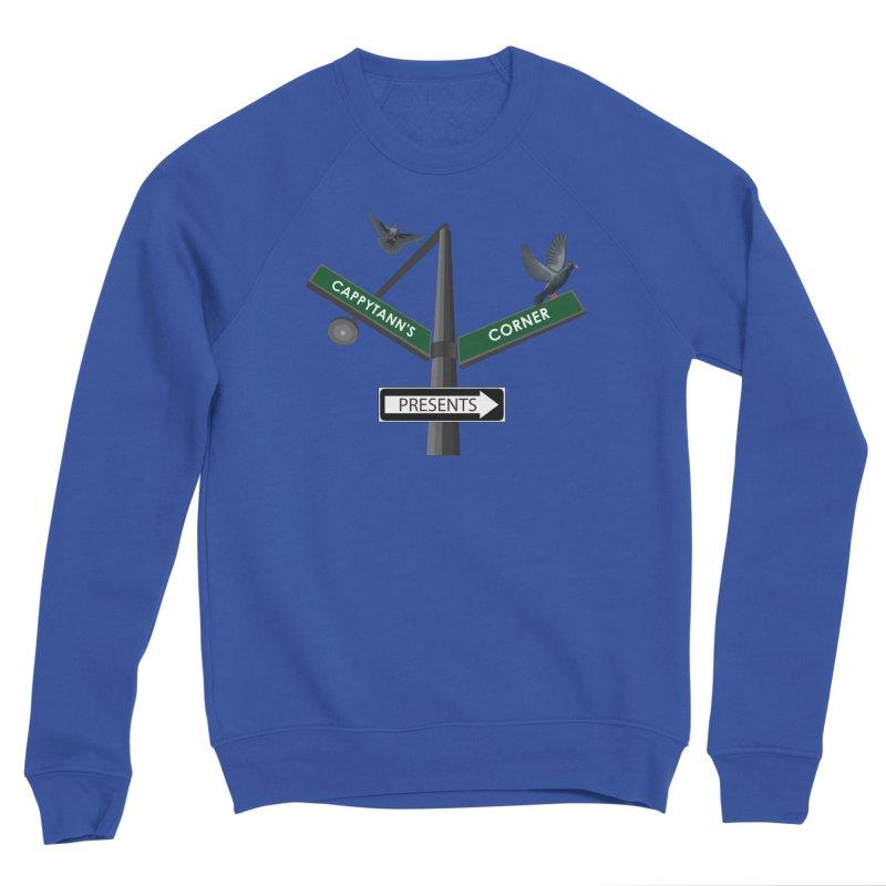 Cappytann's Corner Presents Men's Sweatshirt by Cappytann's Artist Shop