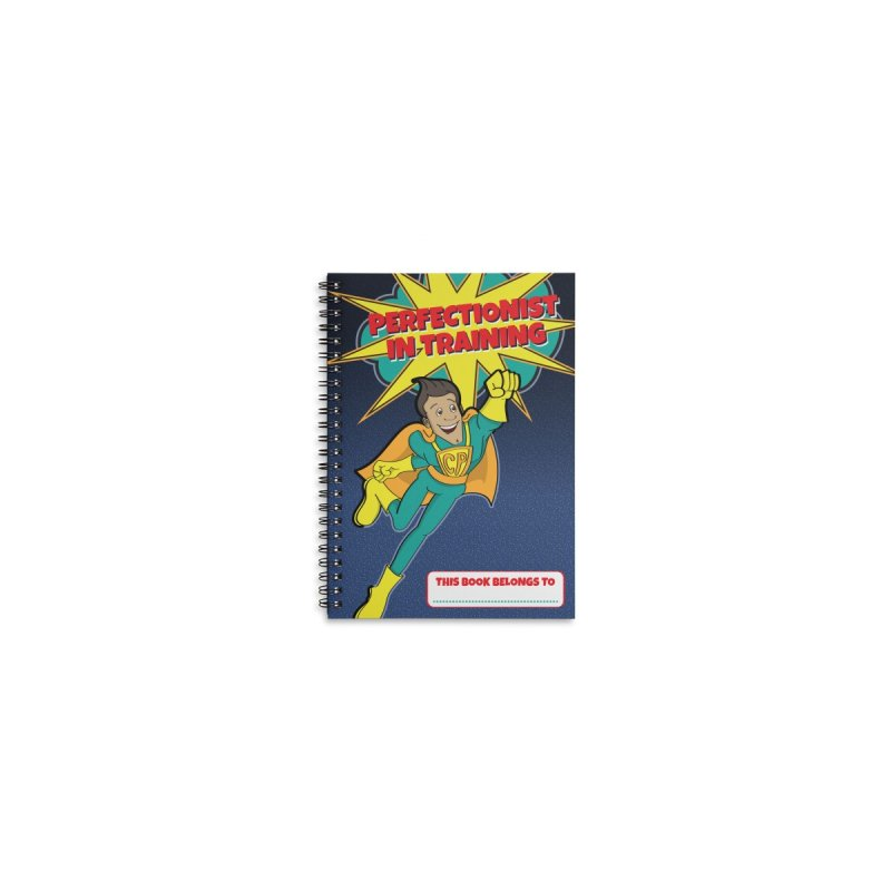 Perfectionist in Training Notebook Accessories Notebook by Captain Perfection's Store