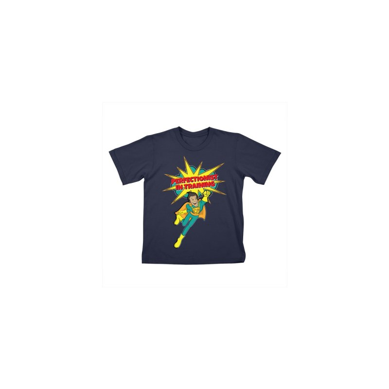 Perfectionist in Training T-Shirt Kids T-Shirt by Captain Perfection's Store
