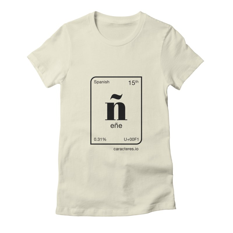 Enye (English) Women's T-Shirt by caracteres.io