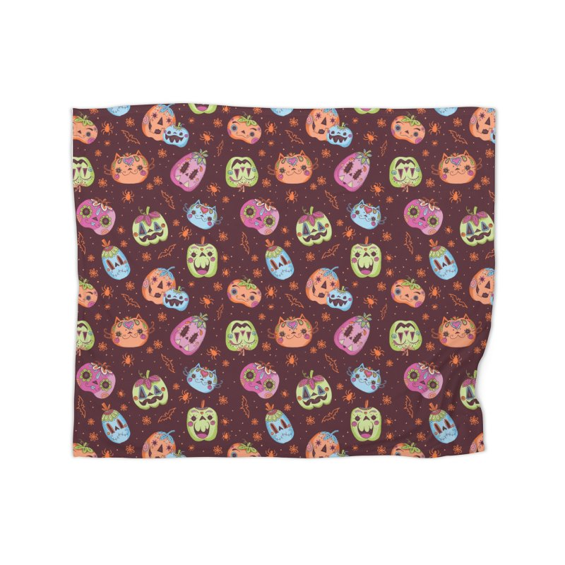 pumpkins Home Blanket by caramela's Artist Shop