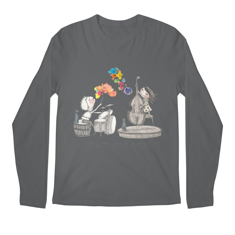 Drum and Bass Men's Longsleeve T-Shirt by caratoons's Shop