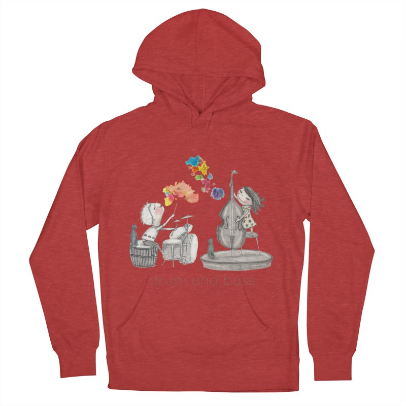 Drum and Bass Women's French Terry Pullover Hoody by caratoons's Shop