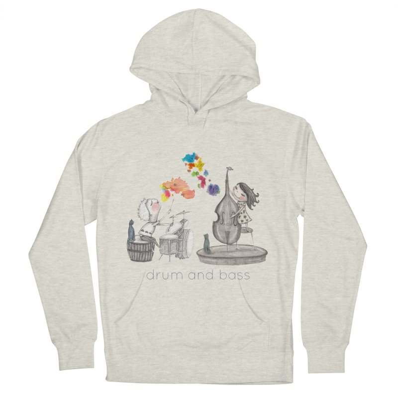 Drum and Bass Women's Pullover Hoody by caratoons's Shop