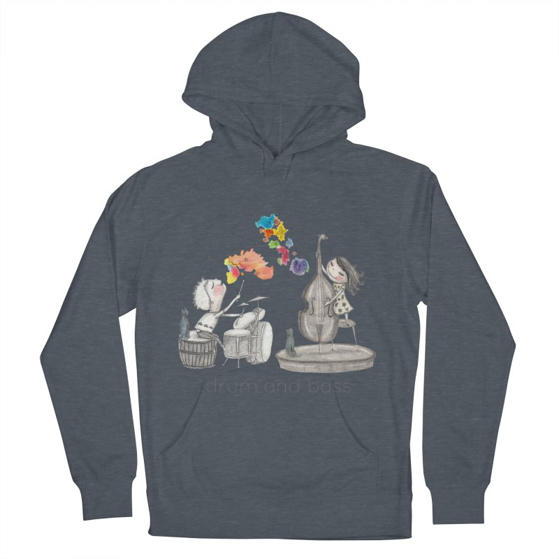 Drum and Bass Men's French Terry Pullover Hoody by caratoons's Shop