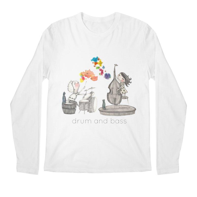 Drum and Bass Men's Regular Longsleeve T-Shirt by caratoons's Shop