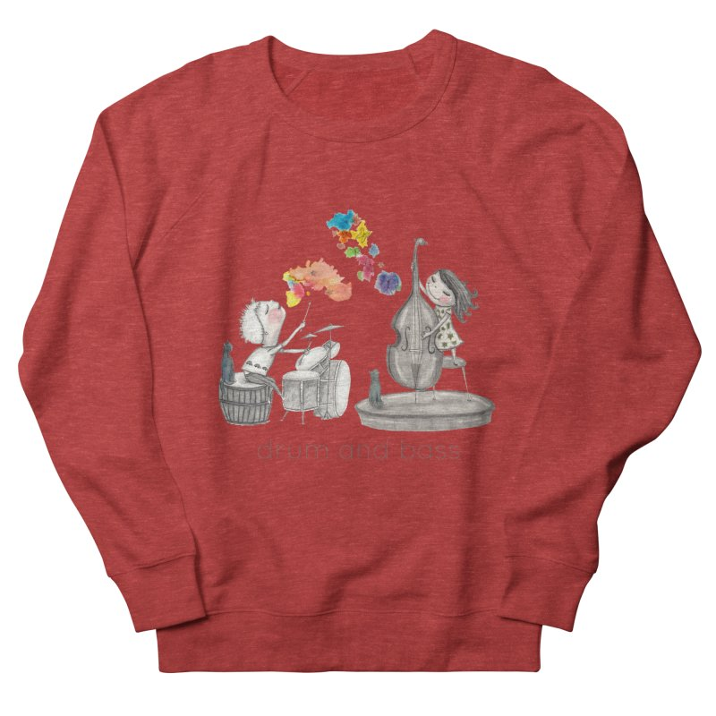 Drum and Bass Women's French Terry Sweatshirt by caratoons's Shop