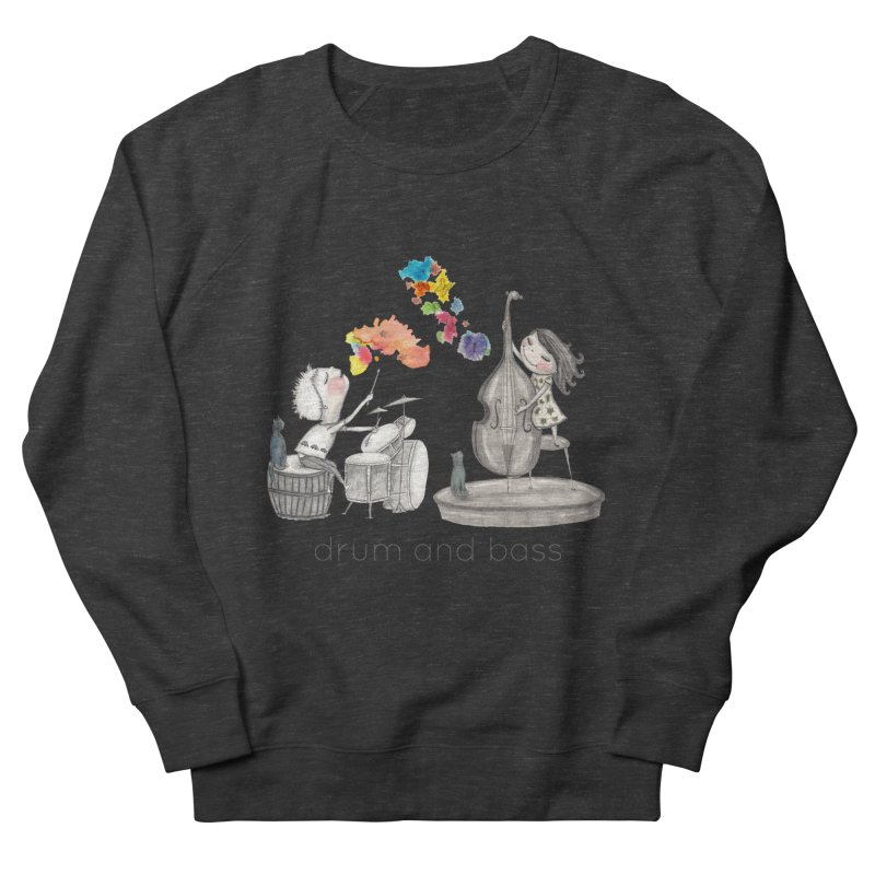 Drum and Bass Men's French Terry Sweatshirt by caratoons's Shop