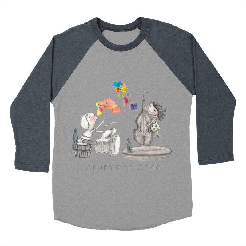 Drum and Bass Women's Baseball Triblend Longsleeve T-Shirt by caratoons's Shop