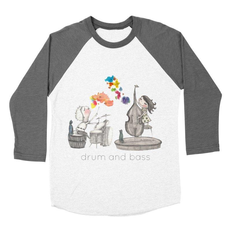 Drum and Bass Men's Baseball Triblend Longsleeve T-Shirt by caratoons's Shop