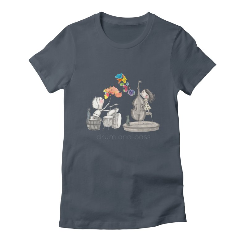 Drum and Bass Women's T-Shirt by caratoons's Shop