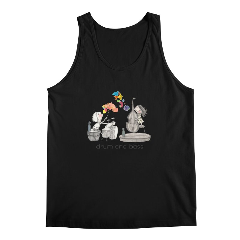 Drum and Bass Men's Tank by caratoons's Shop