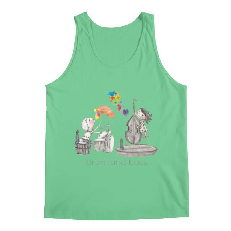 Drum and Bass Men's Regular Tank by caratoons's Shop