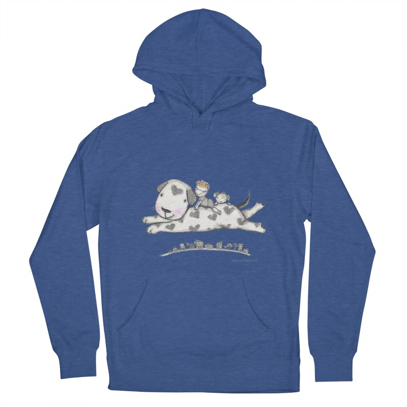 Big Dog Adventure Women's Pullover Hoody by caratoons's Shop