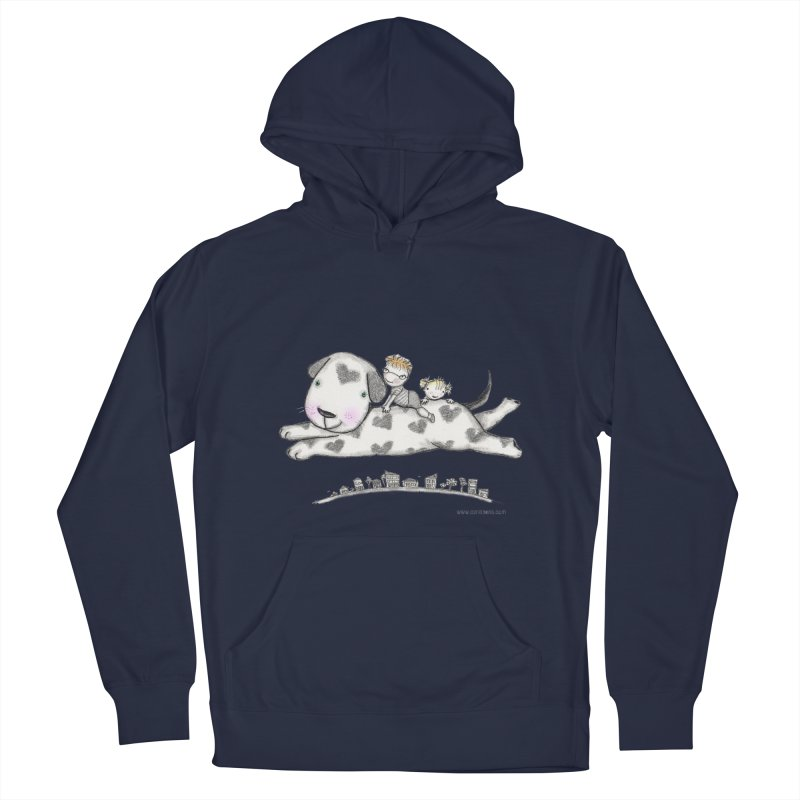 Big Dog Adventure Men's Pullover Hoody by caratoons's Shop