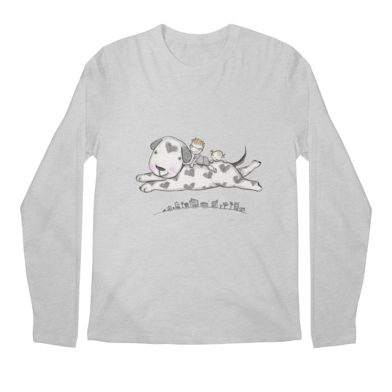 Big Dog Adventure Men's Longsleeve T-Shirt by caratoons's Shop