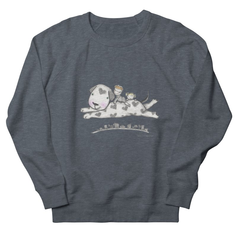 Big Dog Adventure Women's Sweatshirt by caratoons's Shop