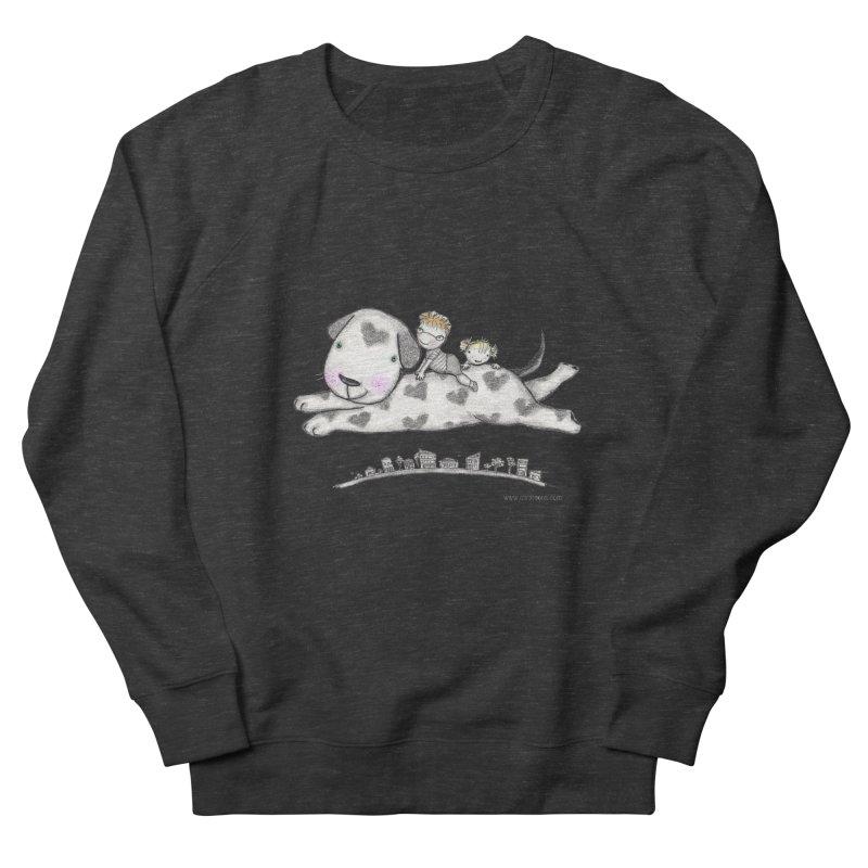 Big Dog Adventure Men's Sweatshirt by caratoons's Shop