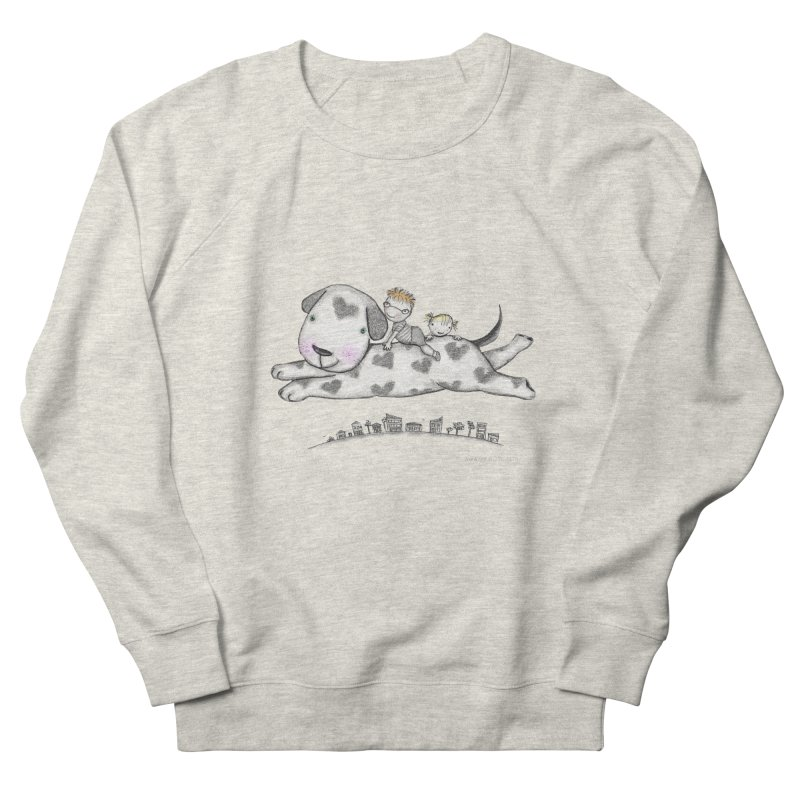 Big Dog Adventure Men's Sweatshirt by caratoons's Shop